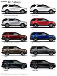 2015 ford colors hiller ford 2015 ford explorer exterior colors 2015