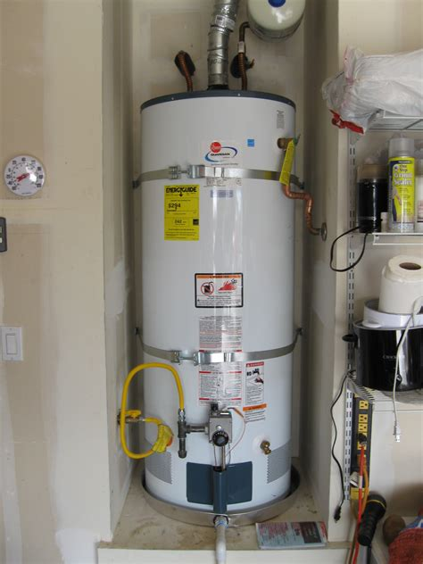 New Water Heater New Water Heater For Lincoln Residence Ronald T Curtis