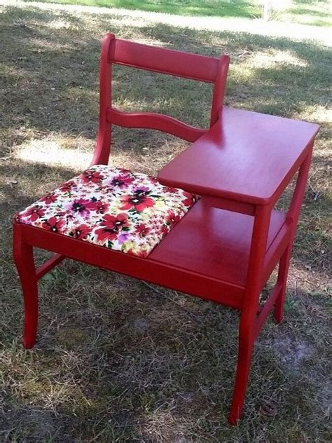 vintage gossip bench black friday sale vintage telephone table red gossip