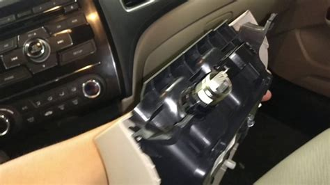 airbag deployment 2007 honda cr v engine control srs airbag module location and removal 2011 2015 honda civic youtube