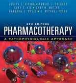 Pharmacotherapy A Pathophysiologic Approach By Joseph T