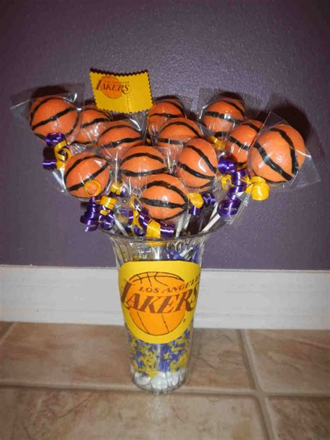 Basketball Themed Birthday Decorations by 33 Best Lakers Images On Basketball