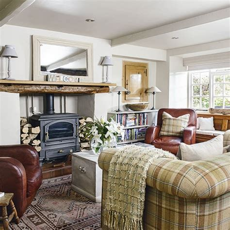 country inspired living rooms traditional living room with tweed sofa be inspired by