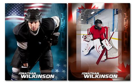 hockey card template photoshop free hockey patriotic arc4studio