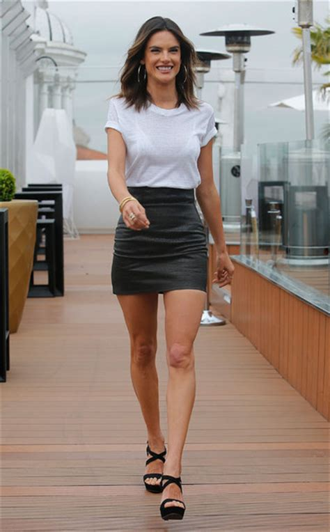 alessandra sublet leather dress skirt top mini skirt alessandra ambrosio sandals