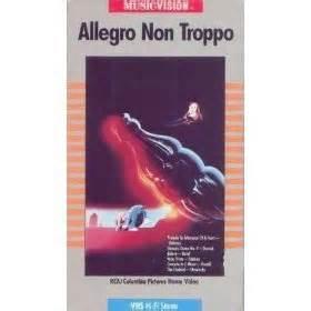 Allegro Non Troppo Posted To by Allegro Non Troppo Vhs Maurizio Nichetti