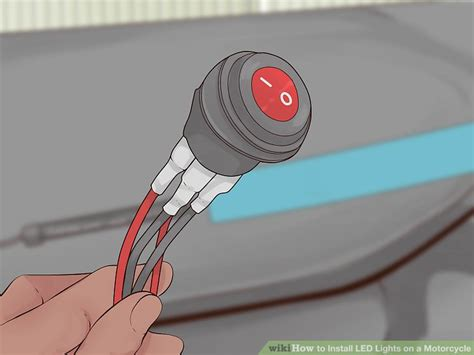 3 easy ways to install led lights on a motorcycle wikihow