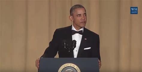 white house correspondents dinner speech president obama gives final white house correspondents speech