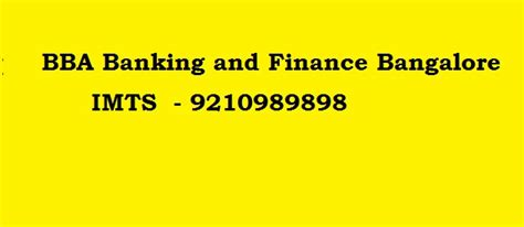 Mba In Finance Correspondence In Bangalore by 921989898 Bba Banking And Finance Distance Education In