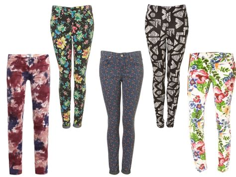 patterned jeans trend trend watch patterned pants