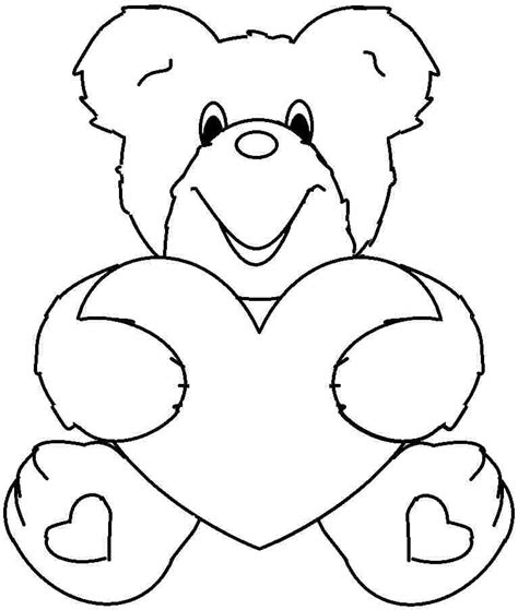 valentine coloring page for toddlers valentine color pages for kids az coloring pages