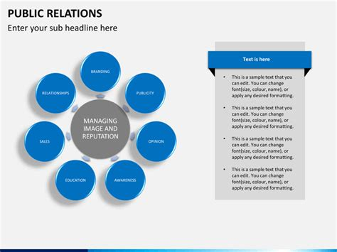 public relations powerpoint template public relation