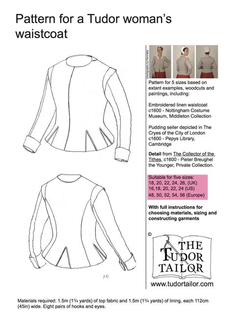 pattern generator clothes shop the tudor tailor pattern for women s tudor or