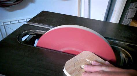 table saw disc sander