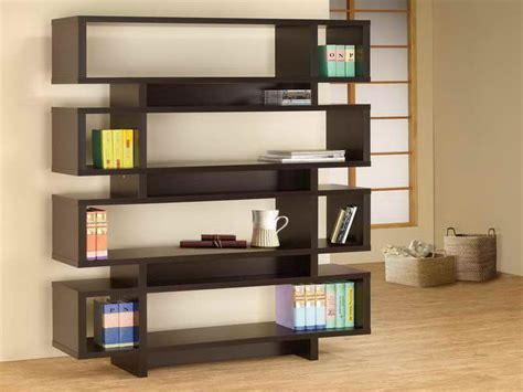 criss cross bookshelf design in zen inspired interior