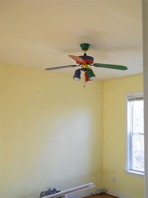 Crayon Ceiling Fan by Projects