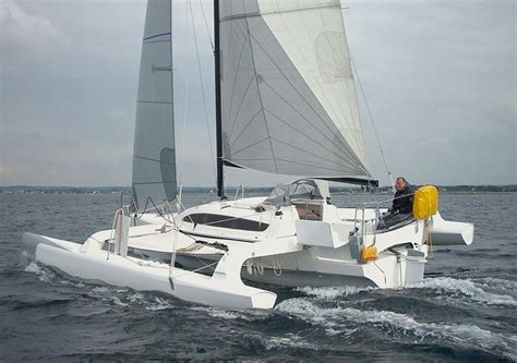 trimaran cruising living life to the fullest here now and at kalihiwai