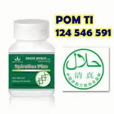 Obat Penggemuk Badan Spirulina penggemuk badan bpom spot herbal