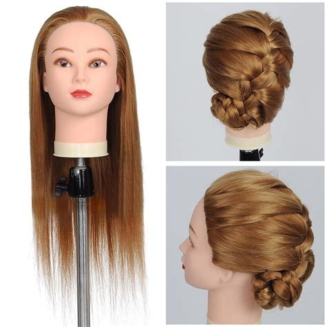 mannequin head to practice braiding in st louis 21 quot cosmetology mannequin head hairdressing training head