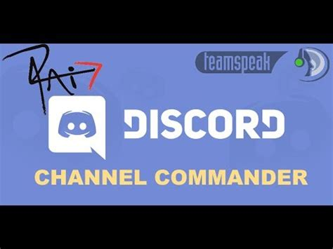 discord music channel how to use channel commander on discord youtube