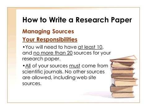 how to write sources for research paper how to write a research paper ppt
