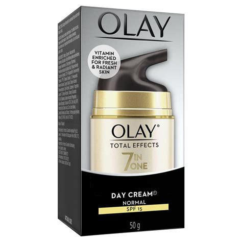 Olay Total Effect Day Spf 15 buy olay total effects 7 in one day normal moisturiser with spf 15 50g at chemist