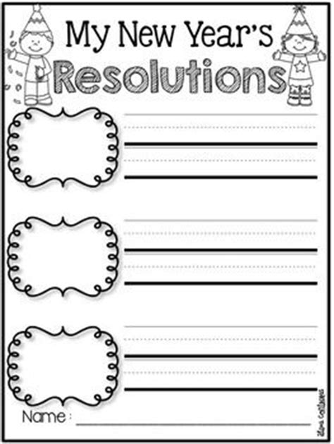 new year writing activities 17 best images about january school stuff on
