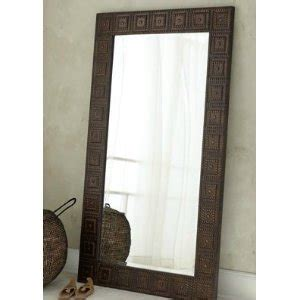 extra large full length floor wall mirror hammered bronze in the uae see prices reviews and