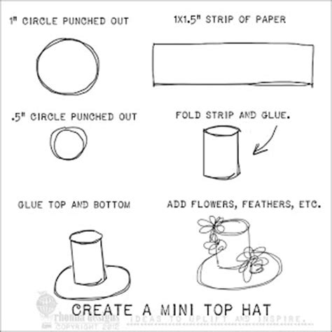 How To Make Paper Top Hat - rhonna designs how do you do that diy hybrid easter wreath