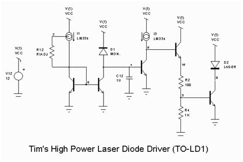 how to power a laser diode sam s laser faq diode laser power supplies