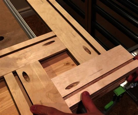 template router diy adjustable router template 7