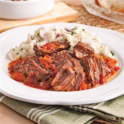 cuisines 駲uip馥s italiennes boeuf brais 233 224 l italienne recettes cuisine et