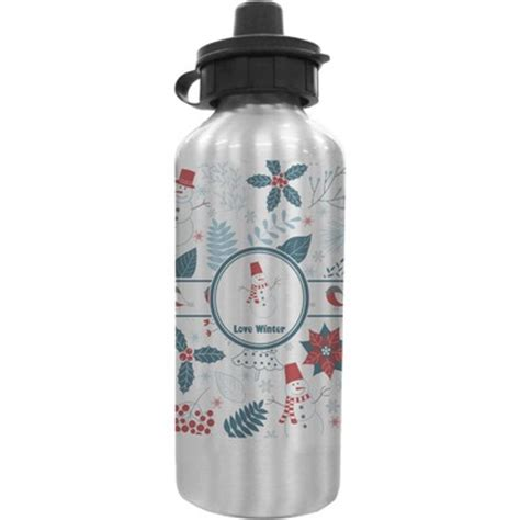 It List Water Bottle by Winter Water Bottle Personalized Youcustomizeit