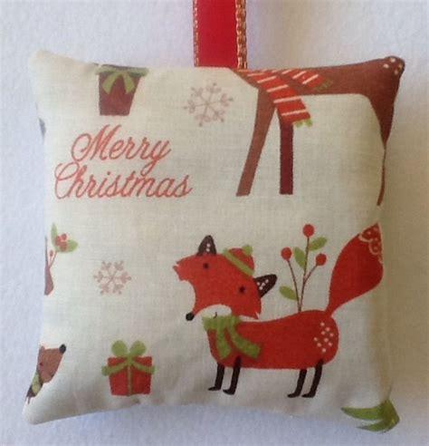 Handmade Fillers - fox gift fox fabric lavender bag fox
