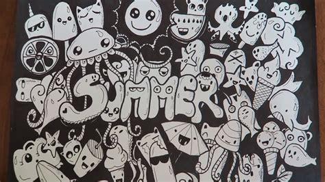 doodle summer doodling summer doodle