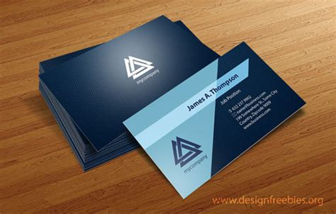 business card design template vector free illustrator templates designfreebies