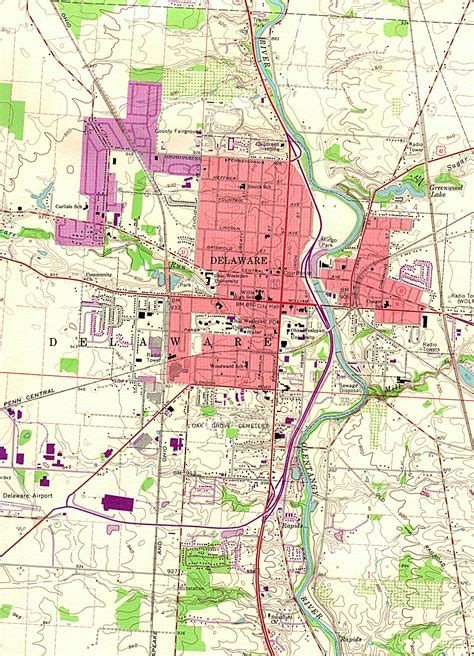 printable road map of delaware delaware maps and state information