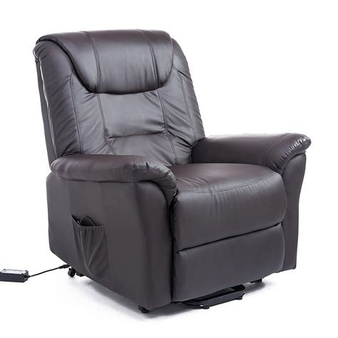 infinite position recliner homcom 42 quot infinite position electric lift chair recliner