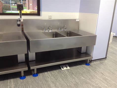 back to back sinks manual decontamination sinks for endoscopy neocare