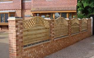 Types Of Wood Fences For Backyard by Walls Amp Fences Angus Paving Ltd