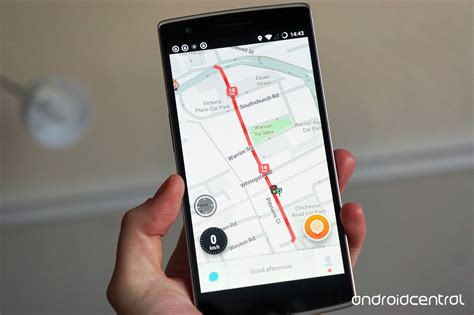 free waze app for android waze now uses fewer taps to get you where you need to go android central