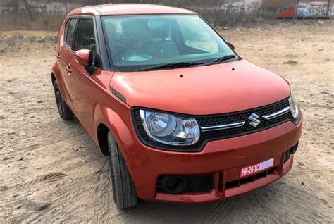 Maruti And Suzuki Explore The Maruti Suzuki Ignis Delta Variant In Pics And