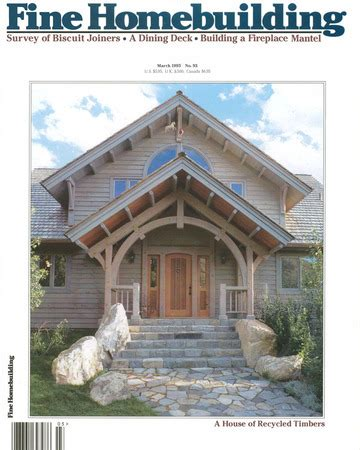 fine homebuilding issue 93 fine homebuilding