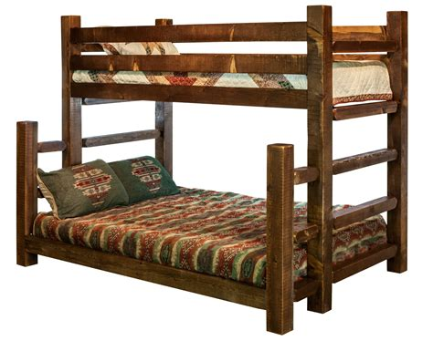 Timber Frame Bed Homestead Timber Frame Bunk Beds Stained Lacquered Or Ready To Finish