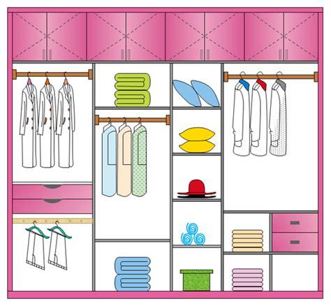 plan garde robe outil parfait de plan de garde robe