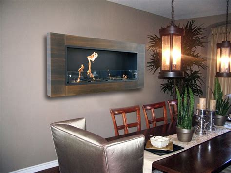wall mounting fireplace 63 8 quot finestera quattro 194 walnut wall mount electric