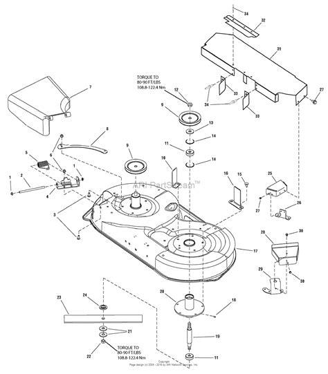 snapper parts diagram snapper 2690577 lt18538 38 quot 18 5 hp hydro drive tractor