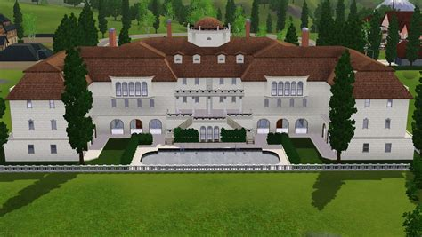 Sims 3 House Plans Mansion Housess On Sims 3 Sims And Mansions