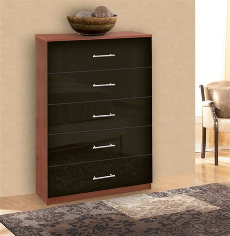 Modern Tallboy Dresser by Modern Tallboy Dresser 5 Drawer Chest Of Drawers