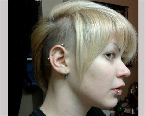 short bald hairstyles for women short shaved hairstyles for women